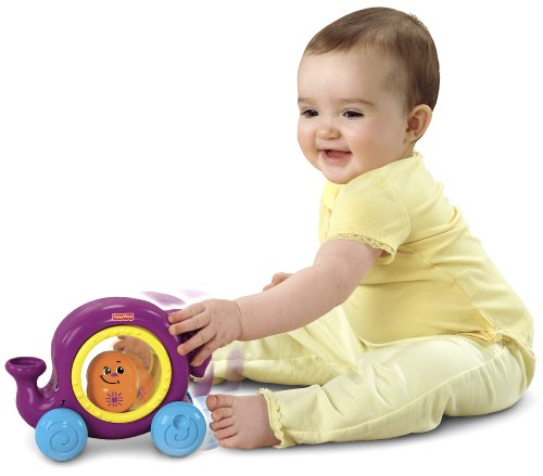 Fisher-Price Topzy Tumblers Whirl 'n Tumble Elephant - 1