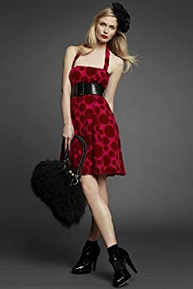 The Divine Devoré Prom Dress - Designed by Patricia Field - Marks & Spencer :  hat satc marks and spencer prom dress