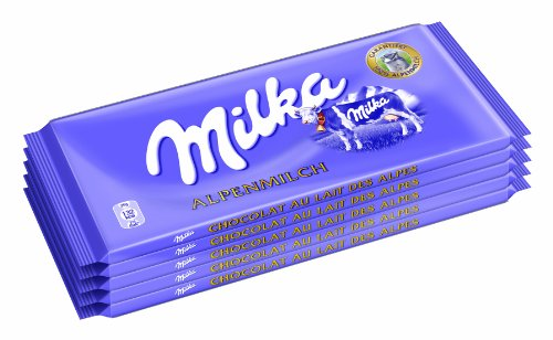 Milka Alpenmilch 5er, 1er Pack (1 x 500 g)