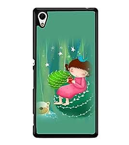 printtech Girly Teddy Back Case Cover for Sony Xperia Z4 , Sony Xperia Z4 E6553