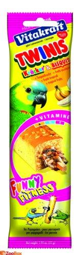 Vitakraft Twinis Kräcker & Bisquiti + Tropenfrucht