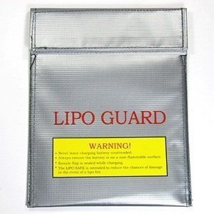 RC LiPo Li-Po Battery Fireproof Safety Guard Safe Bag Charging Sack 18x23cm - 1