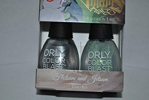Orly Color Blast Disney Villains Ursula Duo Kit - Flotsam & Jetsam by Orly