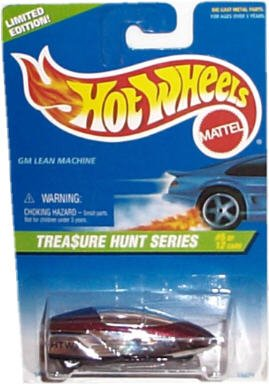 Hot Wheels - Limited Edition Treasure Hunt Series (1997) - GM Lean Machine - #5 of 12 Car Series - Collector #582 - 1