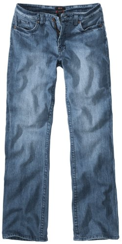 H.I.S. Denim Herren Jeans Hose Modell Randy, light heavy stretch - HIS-103-10-1021, W40 L38