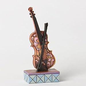 Jim Shore Heartwood Creek Mini Musical Instruments - Violin