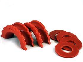 Daystar KU70057RE Red D-Ring Islolator