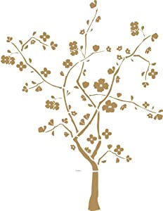 RoomMates RMK1165GM Cherry Blossom Tree Peel & Stick Wall Decal by RoomMates