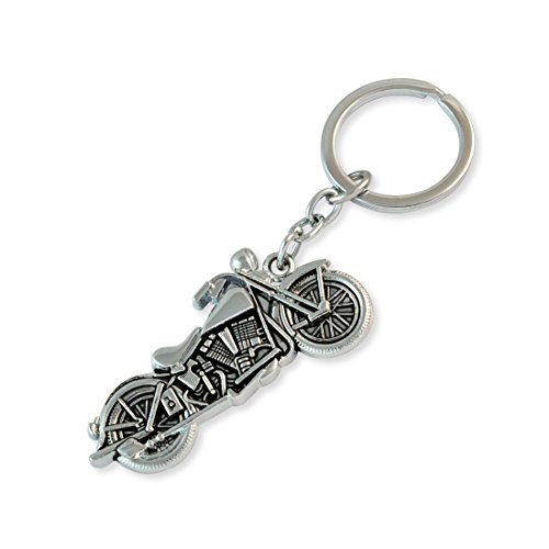 Bike Silver Color Key Chain By Sarah