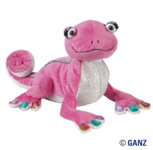 Webkinz Glamour Gecko with Trading Cards - 1
