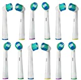12 Pack Toothbrush Replacement Refill Heads Generic - Compatible with with Oral B Triumph Professional Care 9000 series Oral B Sensitive Clean,White Clean Oral B, Advance Power 400 900 Oral B, Professional Care 5000 6000 7000 8000, Oral B Dual Clean