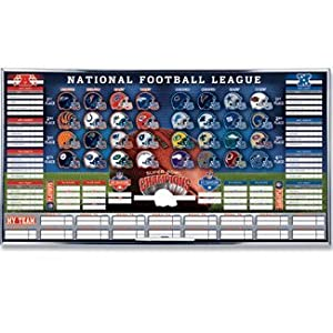 "Amazon.com: Game Day ""NFL"" Standings Board: Sports & Outdoors"