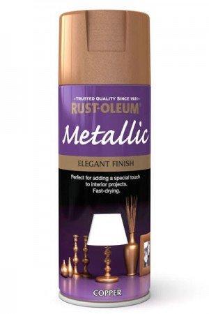 rust-oleum-multi-purpose-aerosol-spray-paint-400ml-elegant-finish-metallic-copper-1-pack