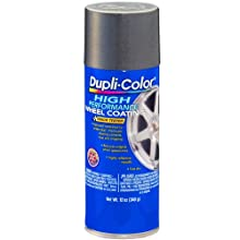 Dupli-Color HWP102 Graphite High Performance Wheel coating - 12 oz.