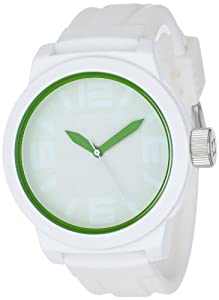 Kenneth Cole Reaction Men's RK1242 Triple White Green Details Watch