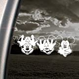 DISNEY Decal MICKEY MOUSE Car Truck Window Sticker
