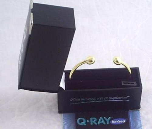 New Qray Gold Standard XS Q-Ray Magnetic Bracelet