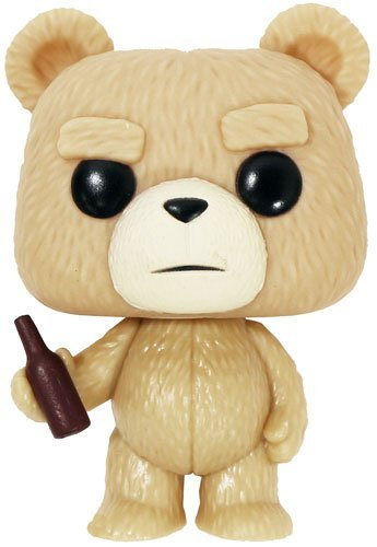 TED / TED2 (Ted / Ted 2) Ted with bottle POP MOVIES VINYL mini Figure [parallel import goods]