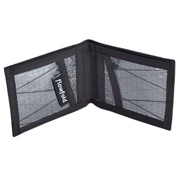 17. Flowfold Men's Sailcloth Slim Front Pocket Bifold Billfold Wallet