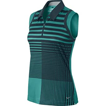 Nike Ladies Graphic Sleeveless Polo by Nike