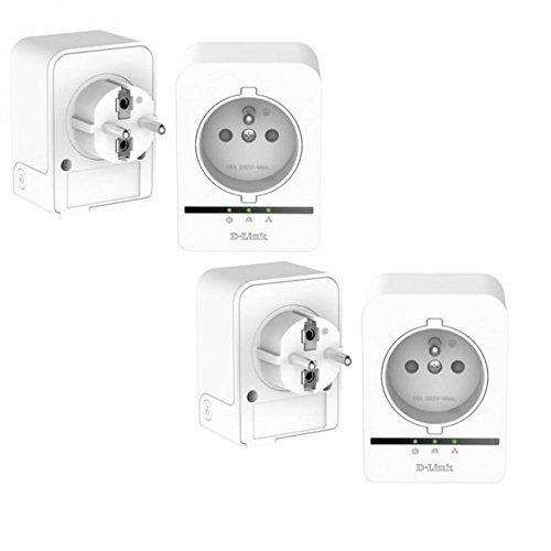 Adaptateur CPL - D-Link DHP-P509AV X2 - Pack de 4 adaptateurs CPL Powerline AV 500Mbps avec prise de courant