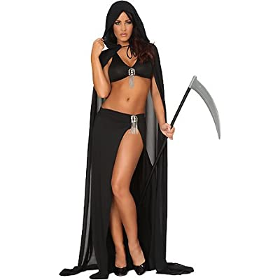 Amazon.com: 3WISHES 'Ravishing Reaper Costume' Sexy Grim