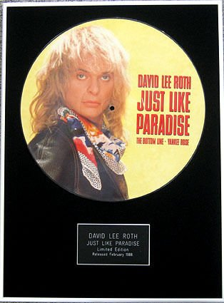 David Roth Lee 30,48 (12 cm-Foto incorniciata, proprio come a disco ""
