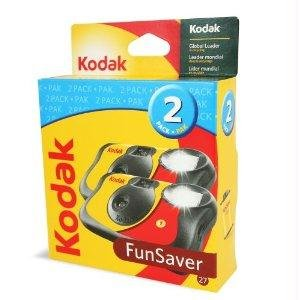 Learn More About Funsaver One Time Use Film Camera (2-pack)
