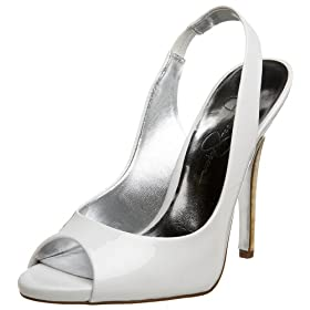 Jessica Simpson Women's Hardy Peep Toe Slingback - Free Overnight Shipping & Return Shipping: Endless.com from endless.com