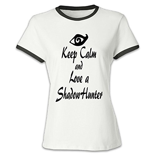 Youqian Shadowhunters Lover Women's T-Shirt Large Black Womens (Shadowhunter Gear compare prices)