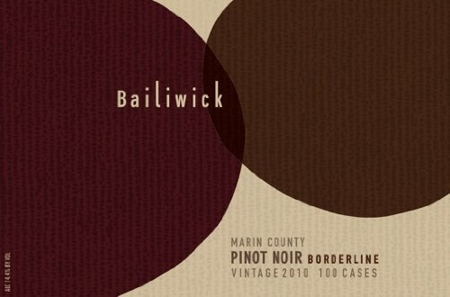 2010 Bailiwick Pinot Noir Borderline Marin County 750 Ml