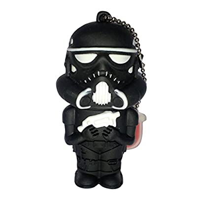 Hitkart USB Flash drive new style Star Wars Darth Vader P31-16GB Storage Device USB 2.0 or Higher