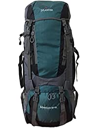 INLANDER 60L Sea Green Travel Bag Backpacking Backpack For Outdoor Hiking Trekking Camping Rucksack