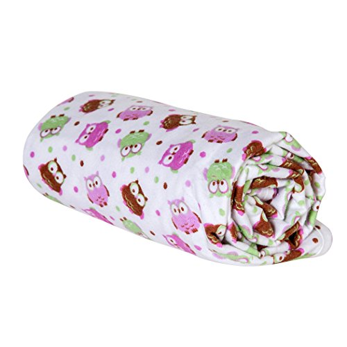 Trend Lab Swaddle Blanket, Owl