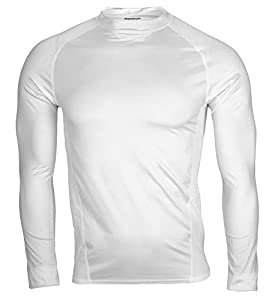 Reebok PlayDry Men's Long Sleeve Athletic Compression Shirt