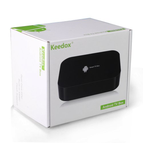 Keedox reg Dual Core Android 4 2 Smart TV Box