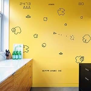 Blik Asteroids Wall Stickers