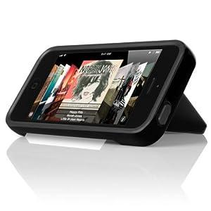 INCIPIO STOWAWAY Hybrid Case w/ Credit Card Holder IPH-851 for Apple iPhone 5 (Black)