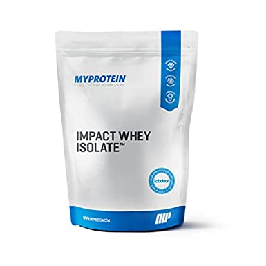 My Protein Impact Whey Isolate 1000 g Natural Vanilla - 1 bis 5 kg low fat and Kohlenhydrate 90 % Protein