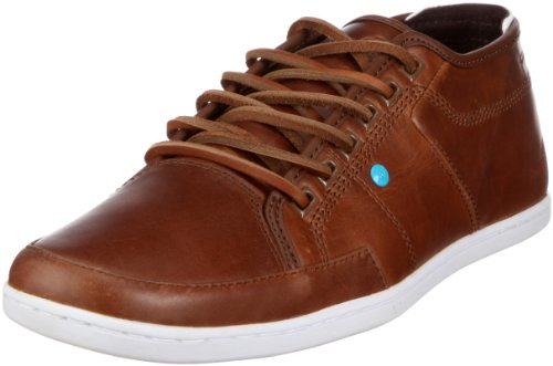 BOXFRESH Sparko Leather Mens Shoes Sparko Leather Bitter Chocolate 8 UK, 42 EU