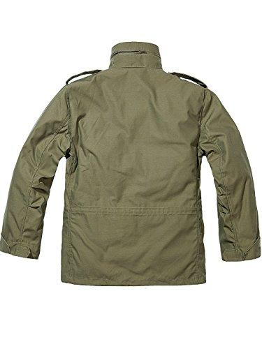 Brandit Men's M-65 Classic Jacket Olive 1
