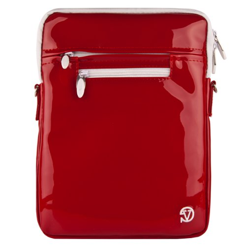 VG Hydei Edition Red Nylon Protective Carrying Bag with Removable Shoulder Strap for HP TouchPad 9.7-inch Tablet Computer