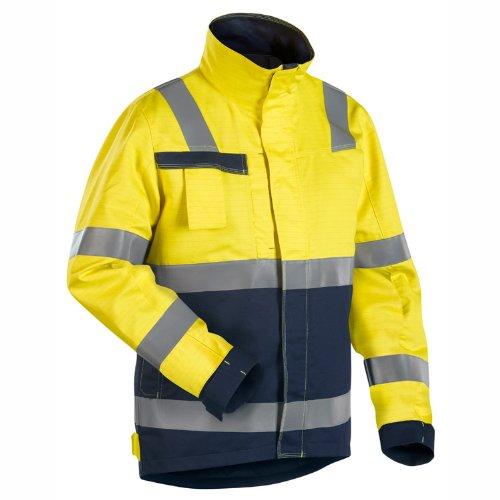 Blakläder Multinorm Winterjacke Gelb/Marineblau, 406815303389, Gr. XXL