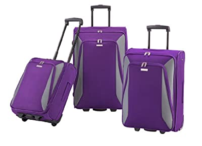 paklite Made By Travelite Lucca Wheeled Luggage 3-Part Set