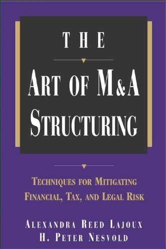 The Art of M&A Structuring: Techniques for Mitigating