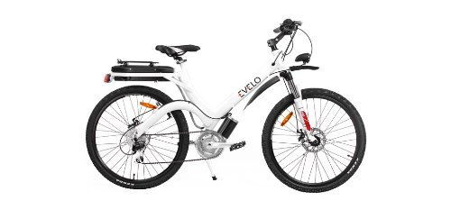 Evelo - Aurora Electric Bicycle E-Bike - White FULL WARRANTY SATISFACTION GUARANTEE
