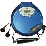 WINTECH ポータブルCDプレーヤー PCD-55A ブルー