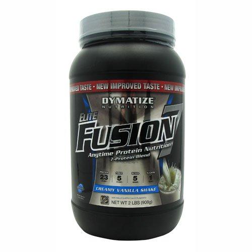 Dymatize Nutrition Elite Fusion-7 Drink, Vanilla, 2 Pound