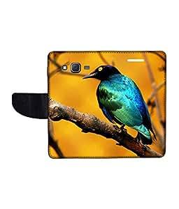 KolorEdge Printed Flip Cover For Samsung Galaxy On5 Multicolor - (1478-50KeMLogo10825SamOn5)