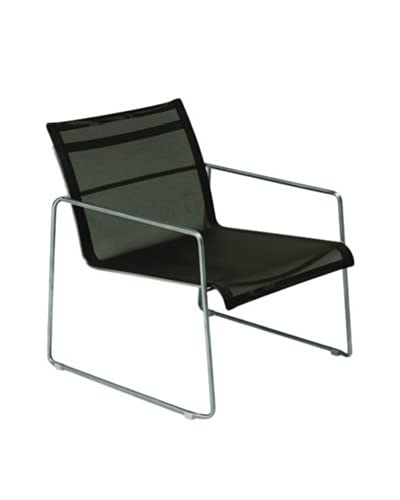 Control Brand Dynamic Lounge Chair, Black